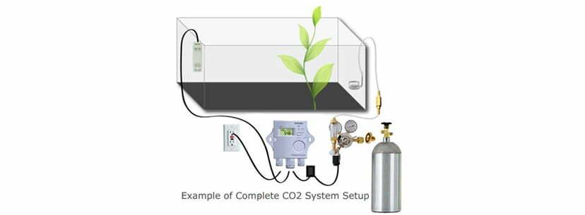 CO2 system setup