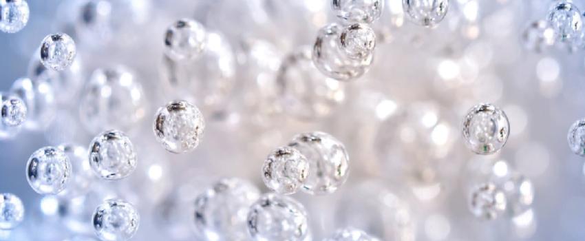Oxygen bubbles
