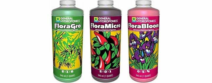 Flora Series Nutrient Trio