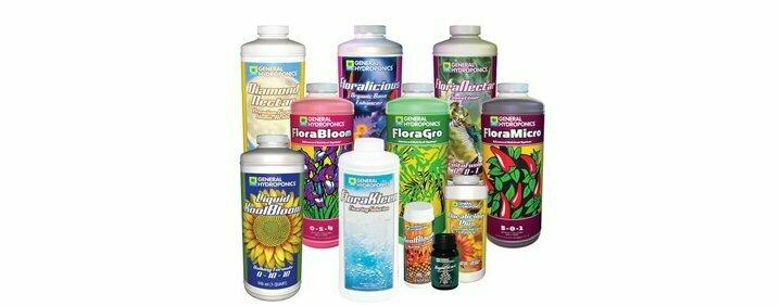 Hydroponics nutrients weed