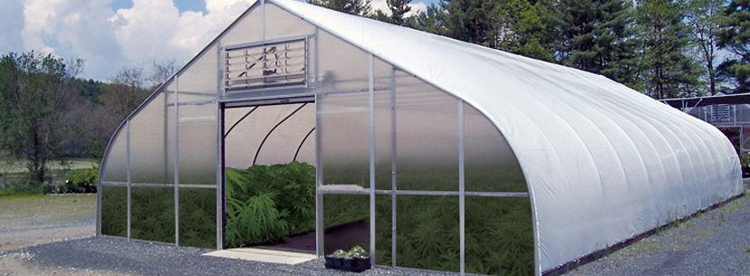 polycarbonate greenhouse cannabis