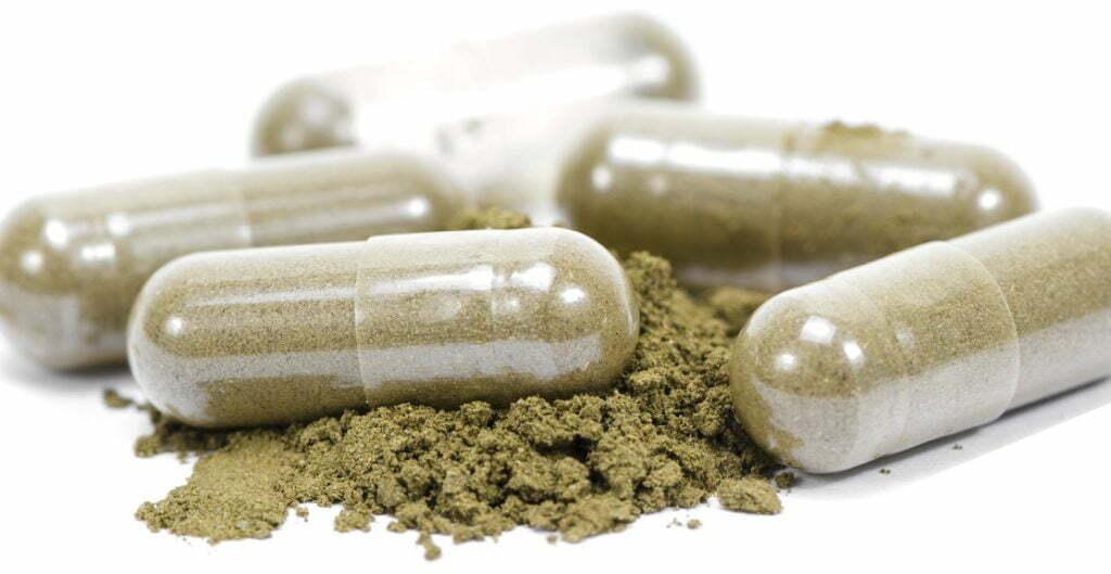 CBD forms capsules