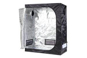 iPower Mylar Hydroponic Grow Tent Inside