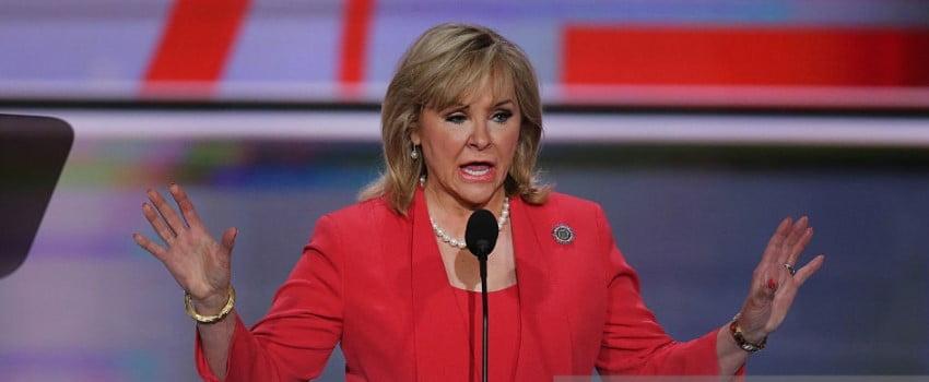 Republican governor of Oklahoma, Marry Fallin