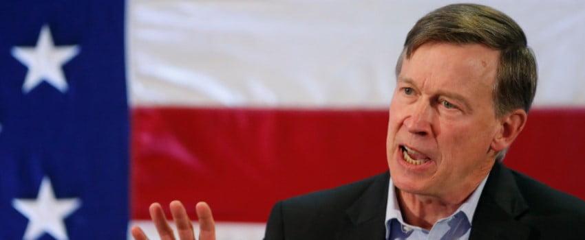 John Hickenlooper, governor of Colorado