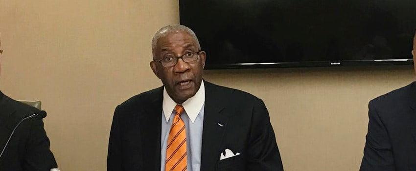 Circuit judge Wendell Griffen in Arkansas