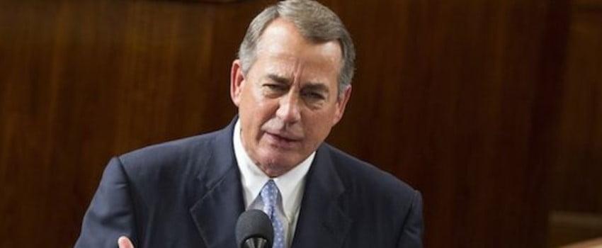 John Boehner is a Republican politician