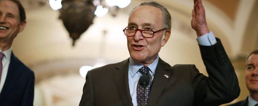 New York senator Chuck Schumer