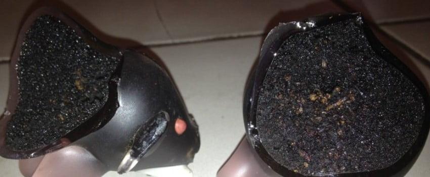 How to scrape resin