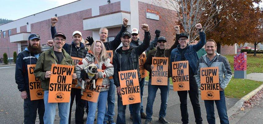 CUPW strike