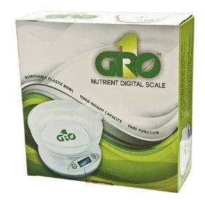 Gro1 Nutrient Digital Scale 2.2 lb. Capacity