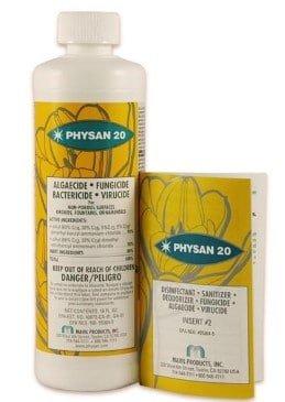 Physan 20 Fungicide Virucide Algaecide