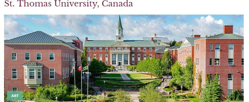 St. Thomas University in Fredericton